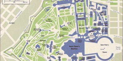 Vatikaani Vatikaani Kartta Kartat Vatikaani Vatikaanivaltio